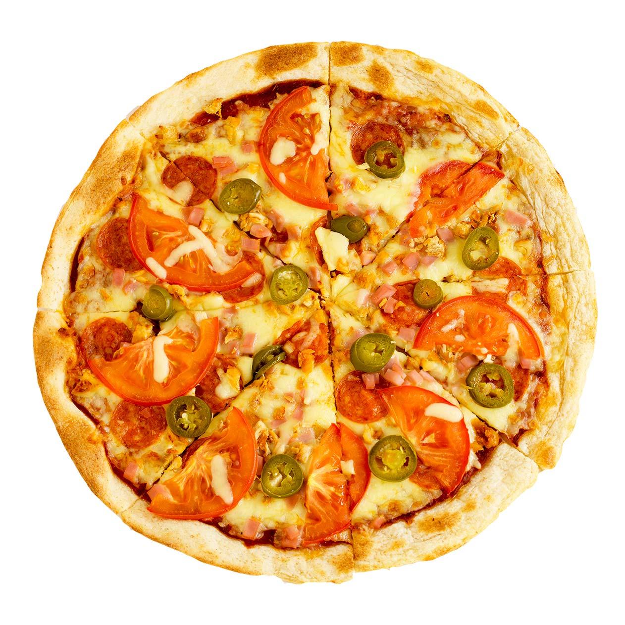 Диабло Сан-Диего Pizza Queen