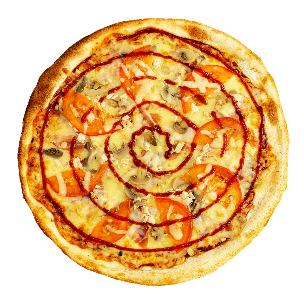 BBQ Калифорнийская Pizza Queen